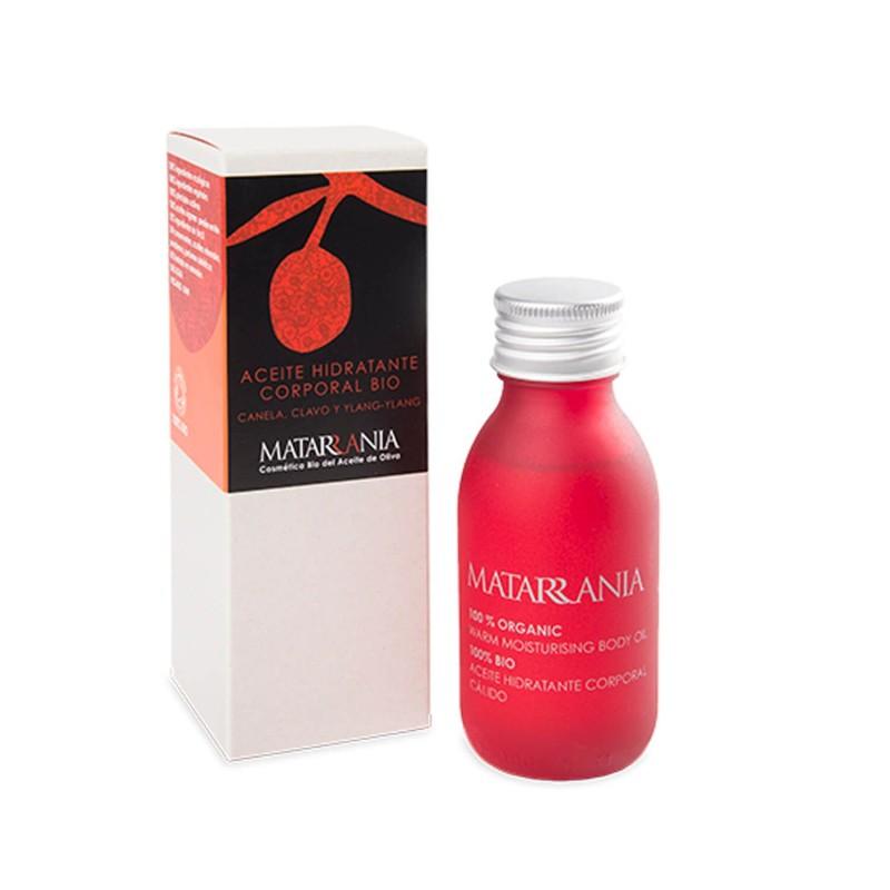 Aceite hidratante corporal ecológico Cálido - Matarrania