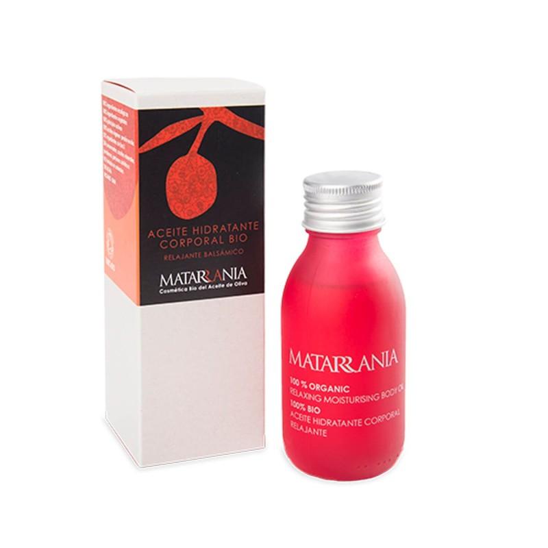 Aceite hidratante corporal ecológico Relajante - Matarrania