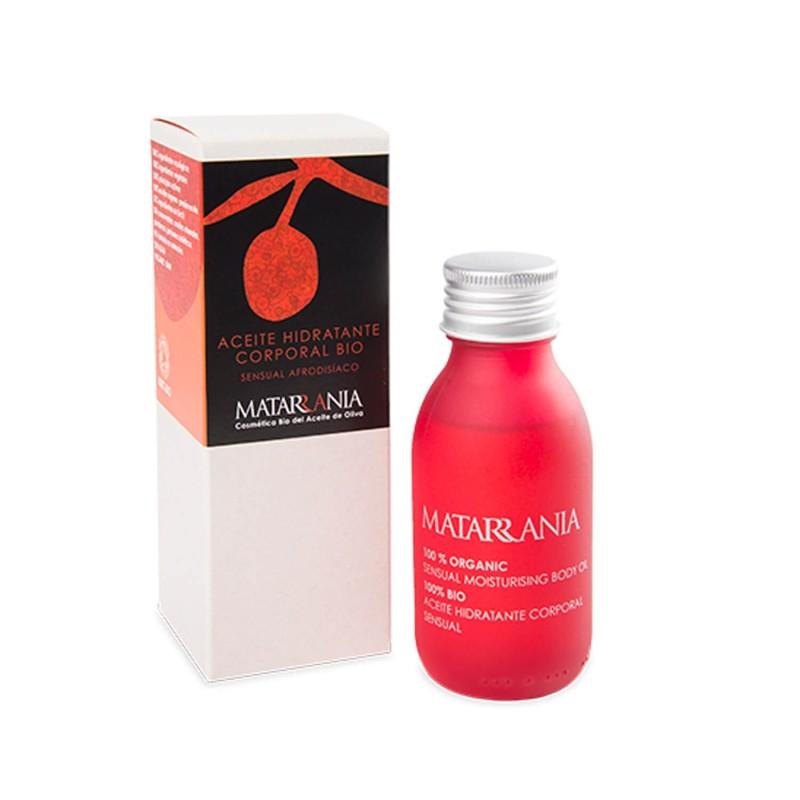 Aceite hidratante corporal ecológico Sensual - Matarrania