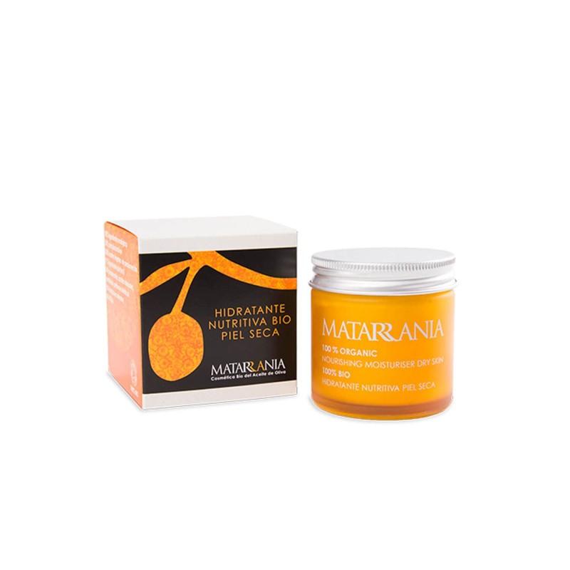 Crema facial hidratante nutritiva piel seca - Matarrania