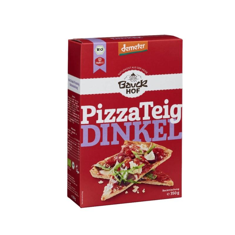 Pizza de espelta semi integral- Bauckhof, agricultura biodinámica Demeter -