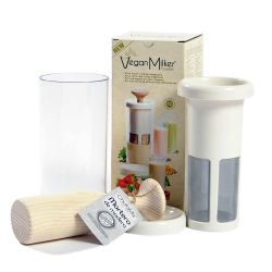 Vegan Milker Premium con mortero de madera