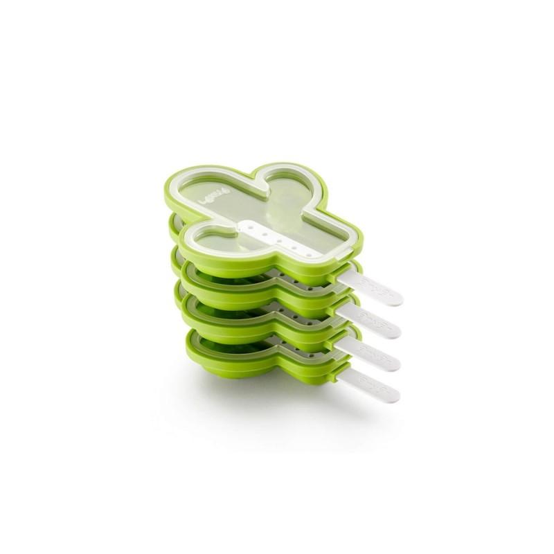 Set moldes de silicona para helados - Cactus