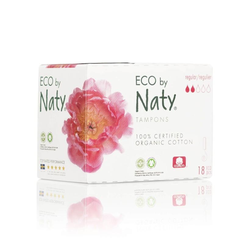 Tampones ecológicos sin aplicador - Naty