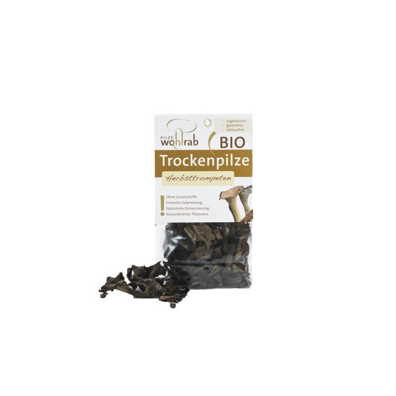 Seta Trompeta negra deshidratada ecológica