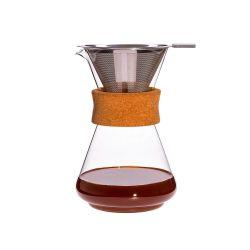 Jarra cafetera Brasil con aro de corcho - Trendglas