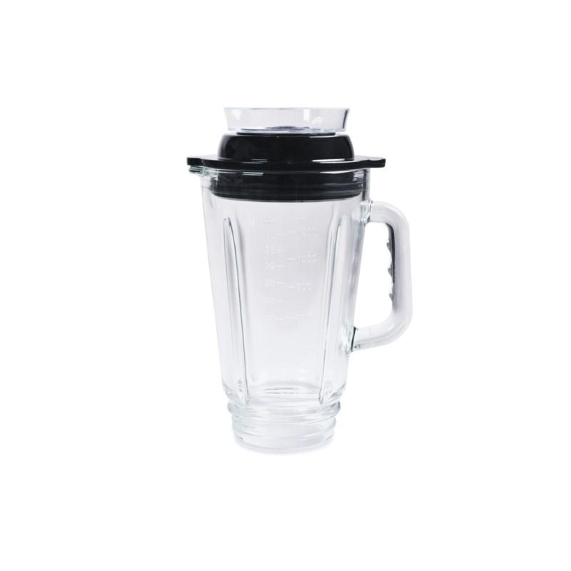 Jarra de cristal 1,25 litros apta para vacío