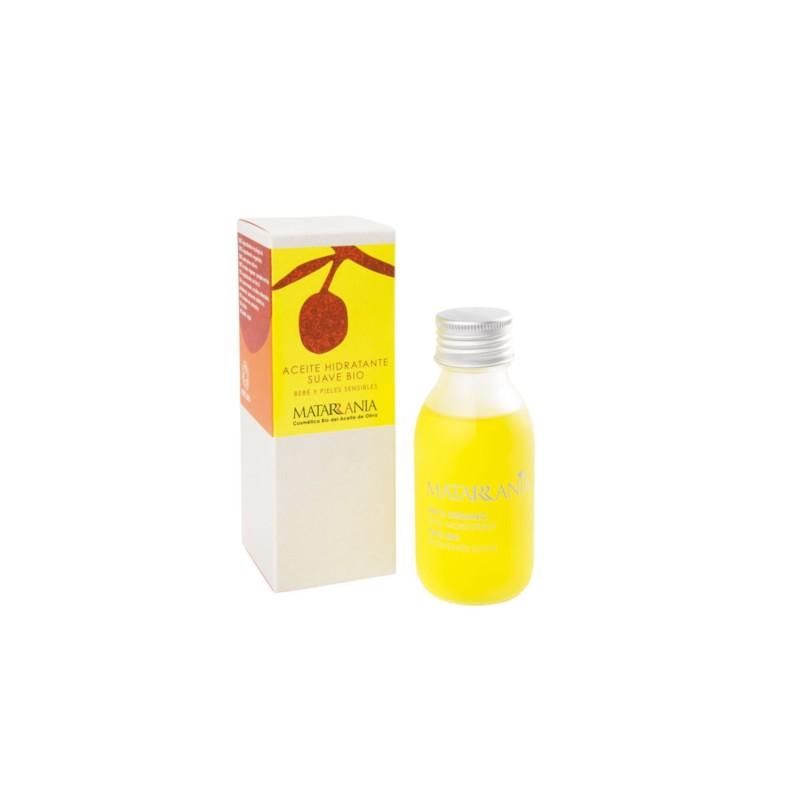 Aceite hidratante corporal suave bebé y piel sensible