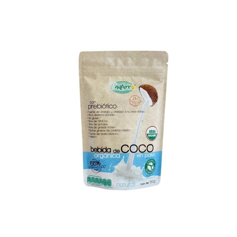 Bebida de coco en polvo