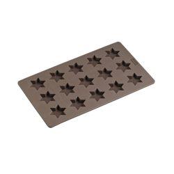 Molde de silicona de estrellas