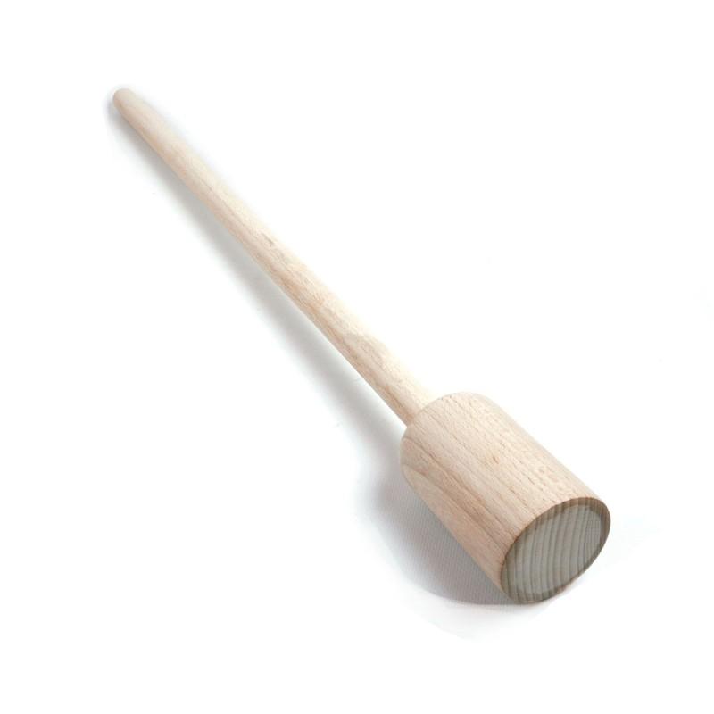 Barra presionadora de madera para tarro de fermentación