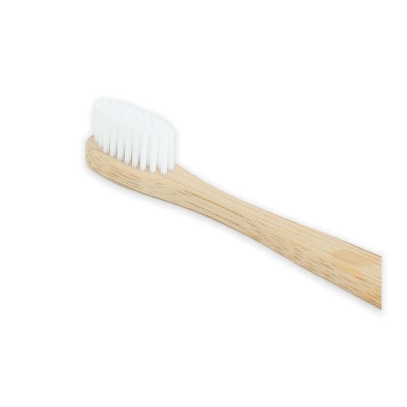Cepillo de dientes de bambú con cerdas suaves 2d0069400256