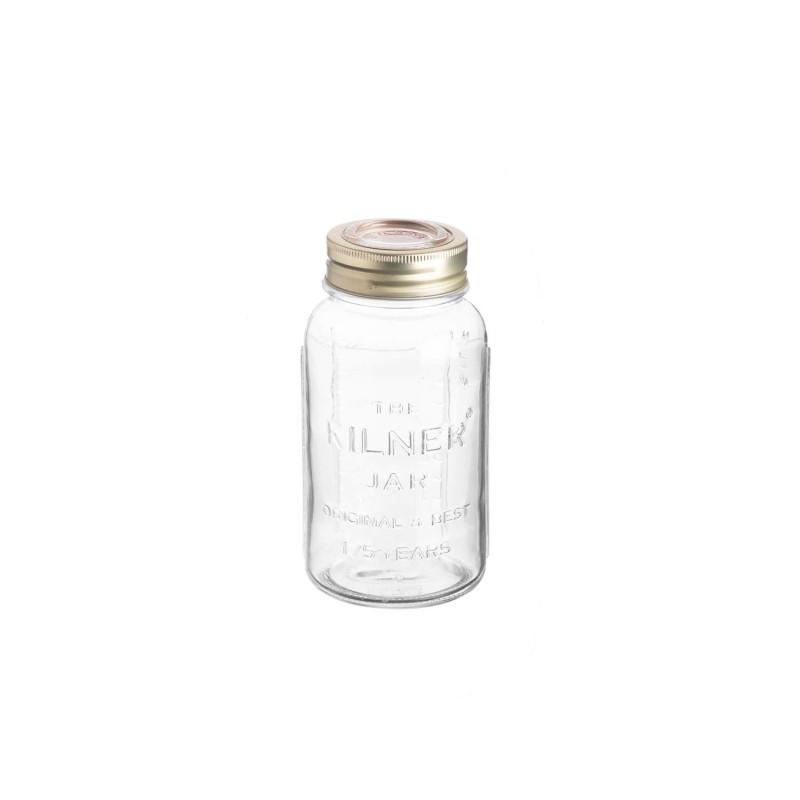 Tarro de cristal con tapón de cristal hermético 750 ml - Kilner