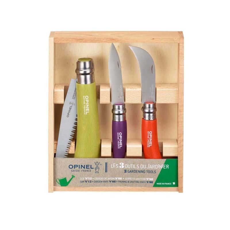 Juego de herramientas de jardinería - Opinel