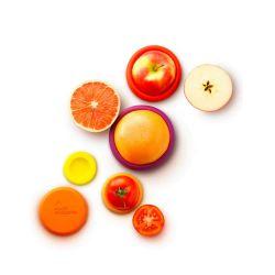Juego 5 tapas ajustables de silicona Autumn Harvest - Food Huggers