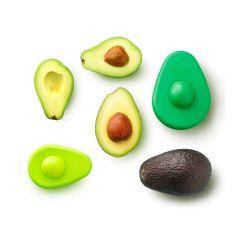 Juego 2 tapas ajustables de silicona para aguacates - Food Huggers