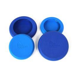 Juego 4 tapas ajustables de silicona grandes - Food Huggers