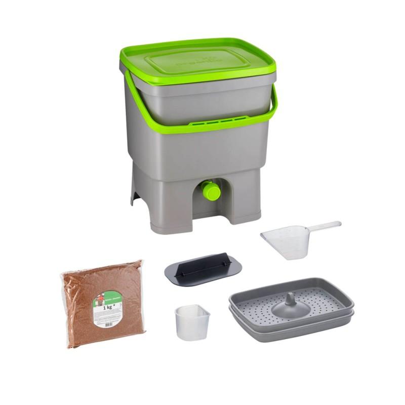 Cubo de reciclaje de materia orgánica - Bokashi Orgánico