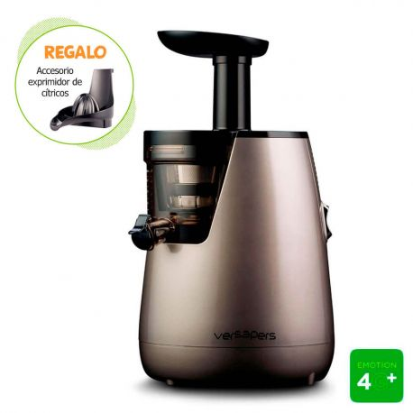 Extractor de zumos Versapers 4G PLUS - Plata