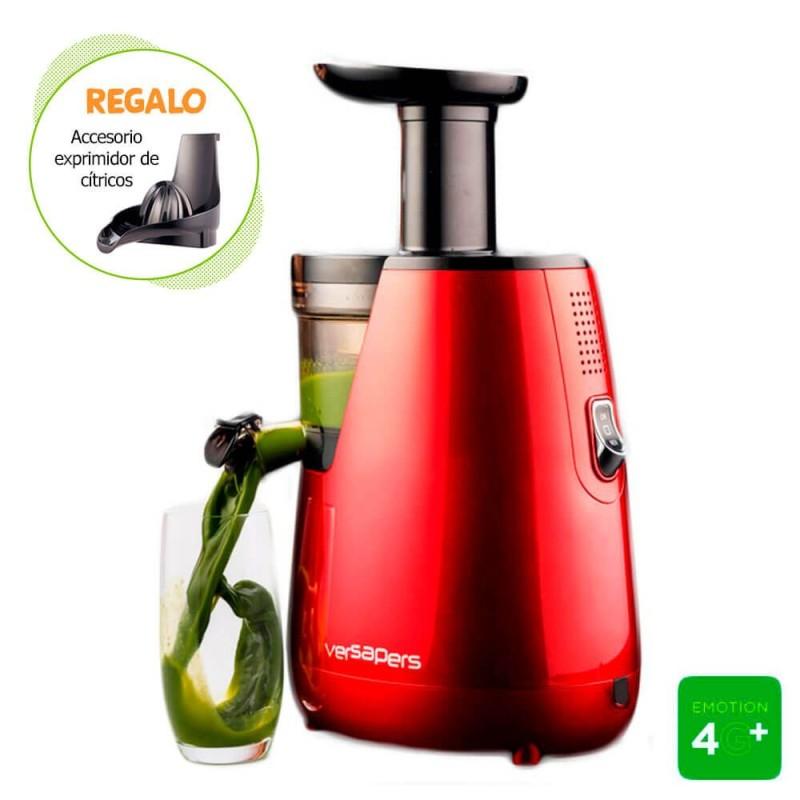 Extractor de zumos Versapers 4G PLUS - Rojo