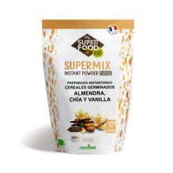 Supermix de cereales germinados, almendras, chía y vainilla