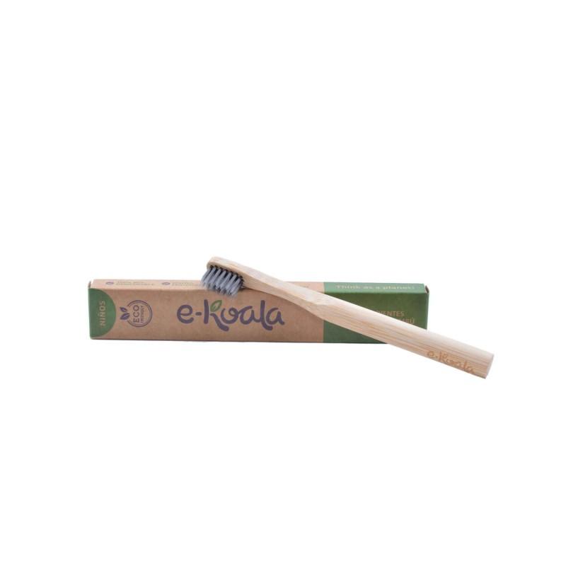 Cepillo de dientes de bambú para niños - Ekoala