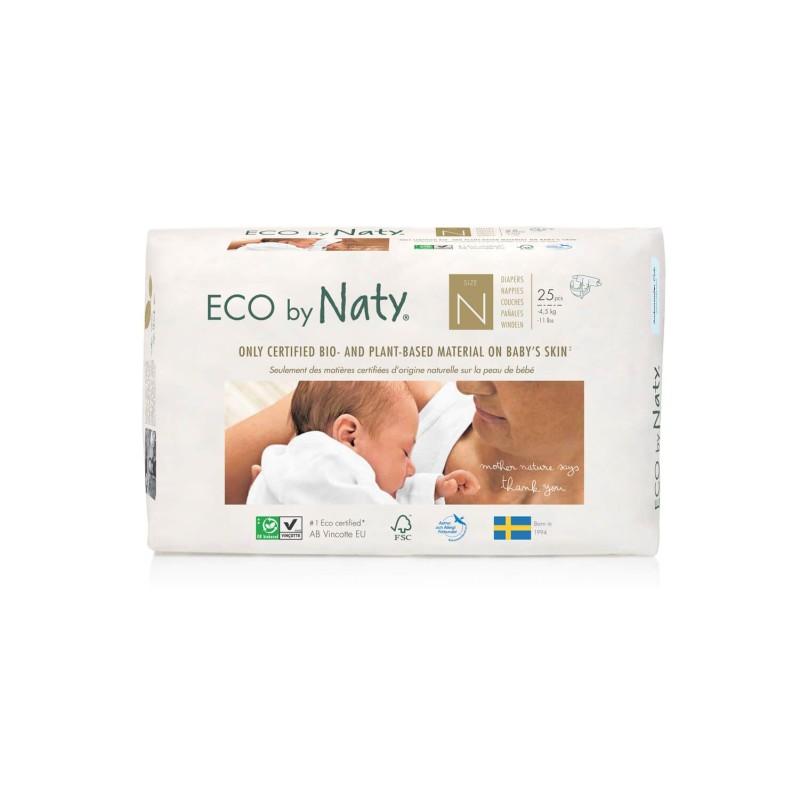 Pañales ecológicos para bebés prematuros - Naty
