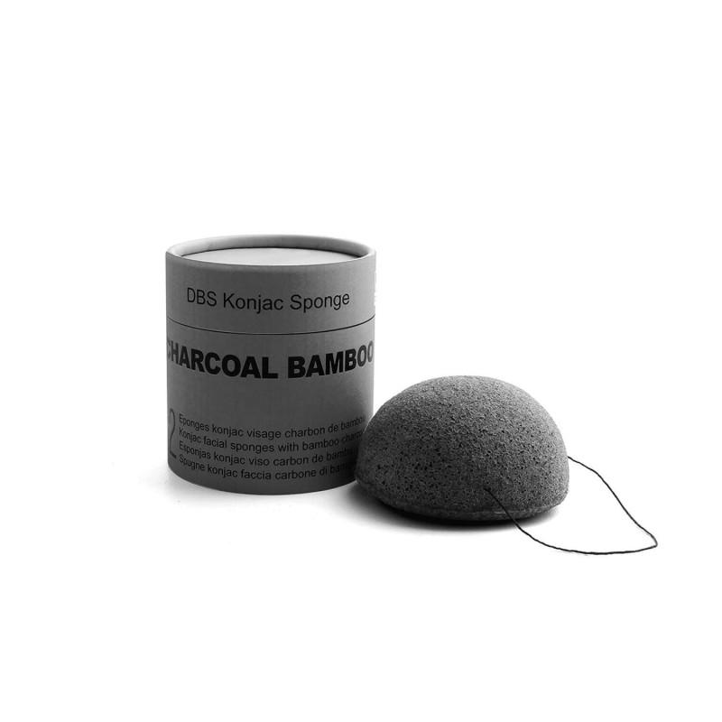 Esponja natural de konjac con carbón de bambú - DBS
