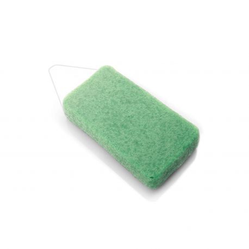 Esponja natural corporal de konjac con arcilla verde  - DBS