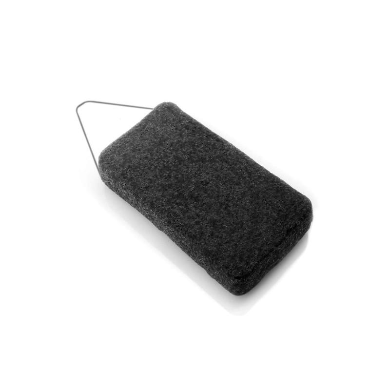 Esponja natural corporal de konjac y carbón - DBS