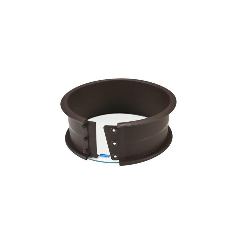 Molde redondo desmontable silicona con base de cristal, pequeño- Lurch