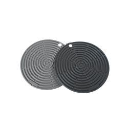 Pack 2 salvamanteles de silicona platino - Lurch