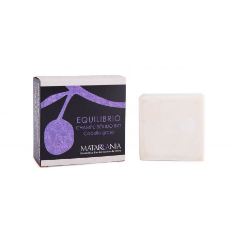 Champú sólido ecológico Equilibrio, cabello graso - Matarrania