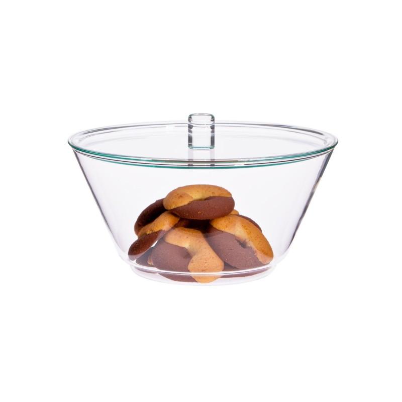 Bol con tapa de cristal Globe 1,5 l