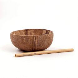 Bol de coco natural - 12 cm