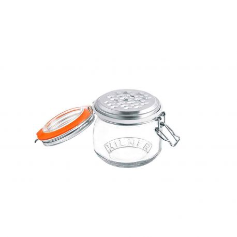 Rallador de acero inoxidable con tarro de cristal - Kilner