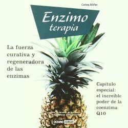 """Libro """"Enzimoterapia"""" - Carlota Máñez - OUTLET"""