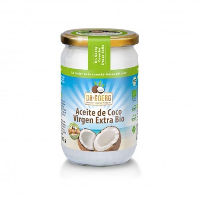 Aceite de coco virgen extra ecológico - Dr Goerg