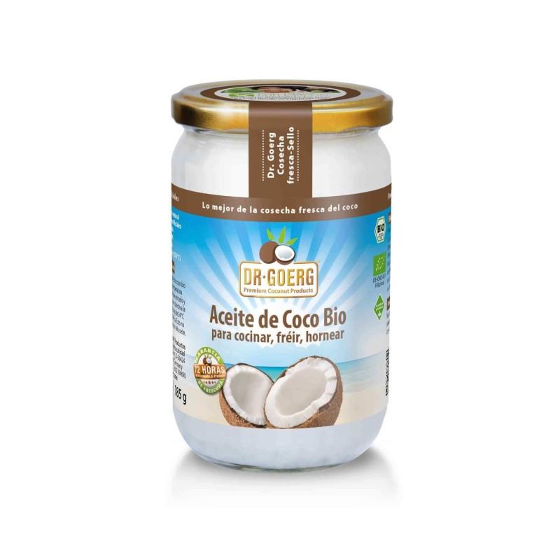 Aceite de coco para cocinar ecológico - Dr Goerg