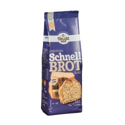 Pan rápido oscuro sin gluten - Bauckhof