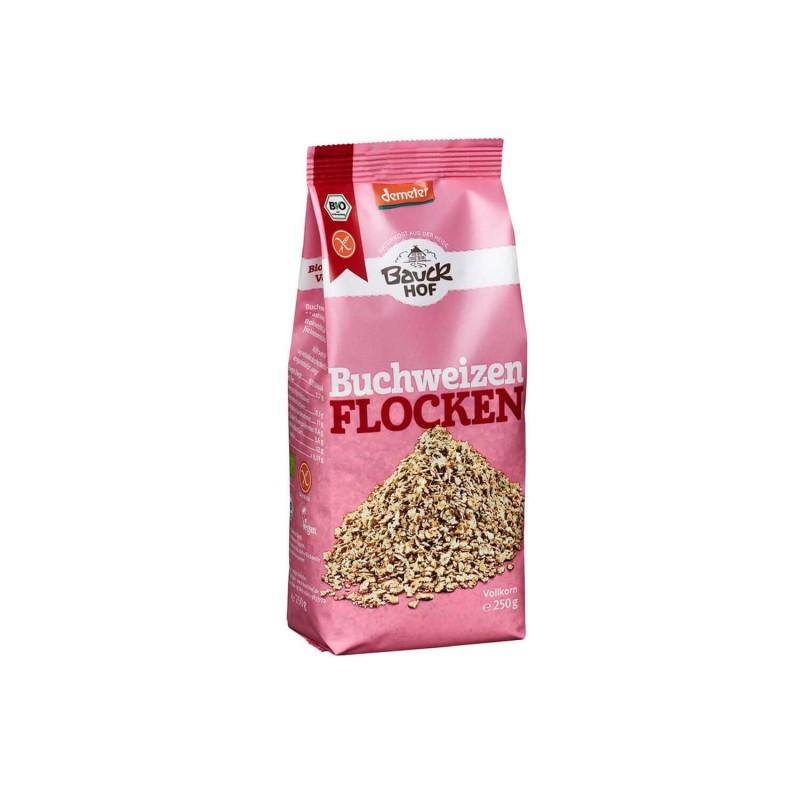 Copos de trigo sarraceno sin gluten