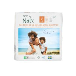 Pañales ecológicos Naty - Talla 5