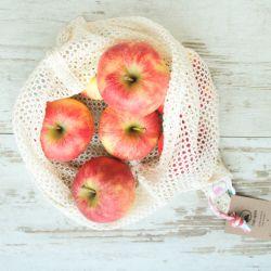 Bolsas de malla de algodón orgánico frutas y verduras - Bag Again