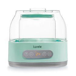 Yogurtera con tarro de cristal 2 l - Luvele Pure Plus