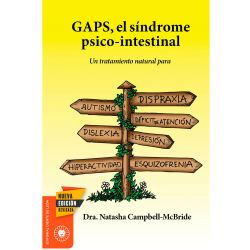 "Libro ""GAPS, el síndrome psico-intestinal"" - Dra Natasha Campbell McBride"
