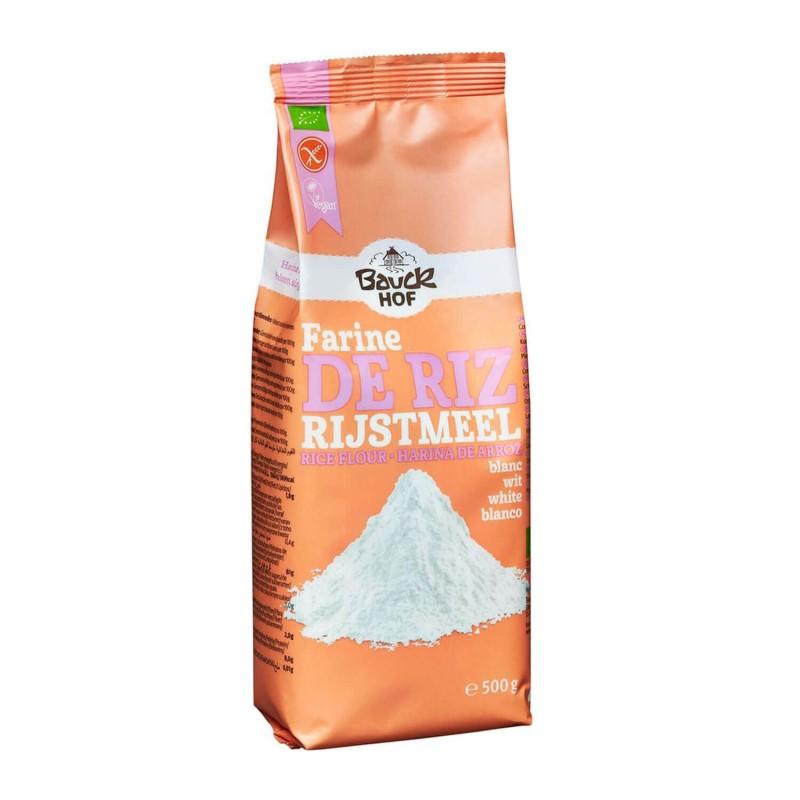Harina de arroz blanca ecológico - Bauckhof