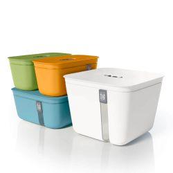 Pack de 4 contenedores de vacío de colores Vacuvita