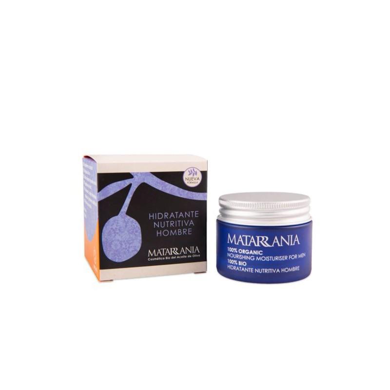 Crema facial hidratante nutritiva masculina - Matarrania