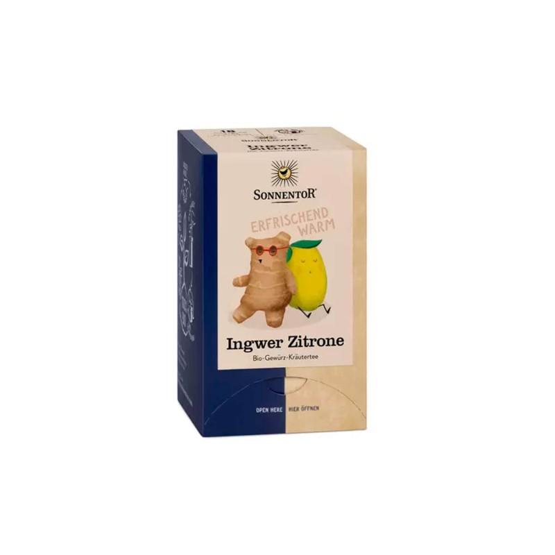 Infusión ecológica de jengibre con limón - Sonnentor