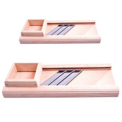 Mandolina de madera para cortar col